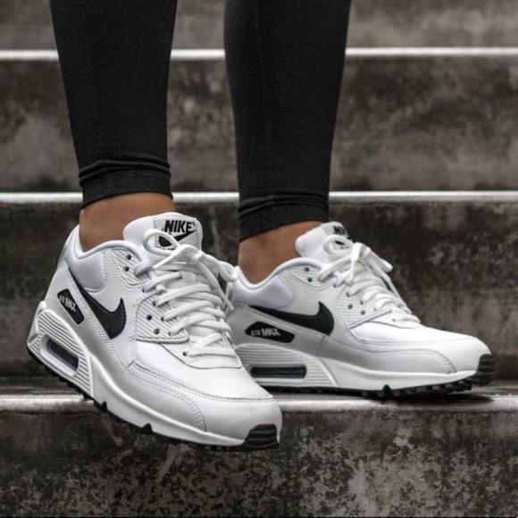 Nike Shoes Brand New Air Max 90 White Black Poshmark